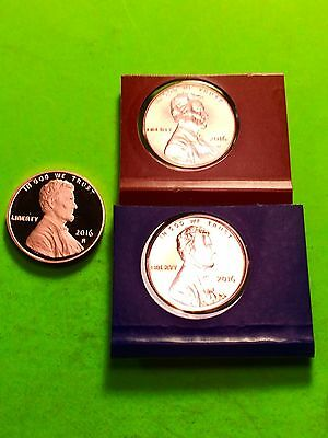 2016 P D S Lincoln Shield mint cello & Gem Deep Cameo Proof