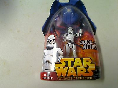 Star Wars Revenge Of The Sith Clone Trooper Action Figure