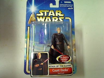 Star Wars- Attack Of The Clones -Count Dooku Collectable Figure