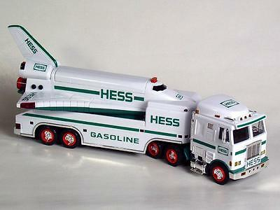 1999 NEW HESS Toy Gasoline Truck Space Shuttle with Satellite NEW in Box MINT
