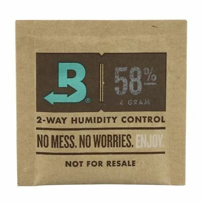 4g Small Boveda 58% Humidipak - Cigar & Herbal Humidifiers - Humidity Control