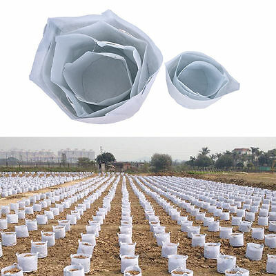 Round Fabric Pots Plant Pouch Root Container Grow Bag Aeration Container Newest