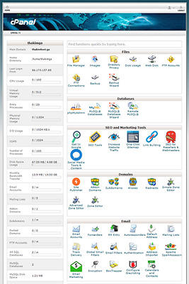 SHARED-WEB-HOSTING-cPanel-WHM For a year