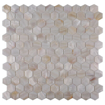 CHOIS A301 Mother of Pearl Shell Backsplash Mosaic Tiles Home Walls Tile Decor