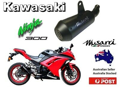 Kawasaki Ninja 300 / Z300 2013-2017 Musarri GP Street Series Slip-on Exhaust