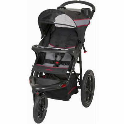 Compact Jogger Stroller single seat all terrain rubber tires baby 6-50 lbs