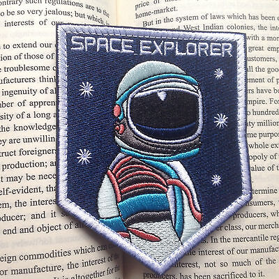 Space EXPLORER MORALE TACTICAL EMBROIDERED HOOK & LOOP PATCH