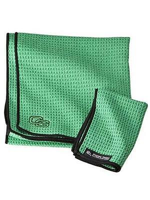 Club Glove Caddy Towel Green