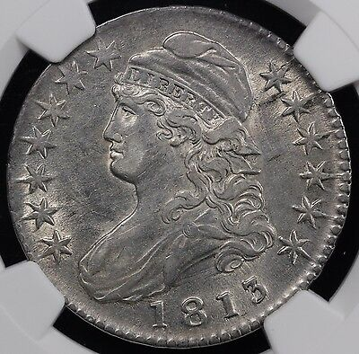 1813 50C Capped Bust Half Dollar Ngc Xf 45