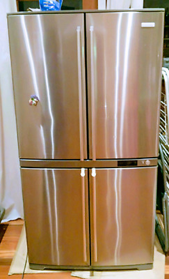 Incredible Electrolux 600L Stainless Steel Fridge, like new