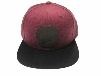 Santa Cruz Leather Dot Snapback Port Royal Hat Cap Skate Free Postage Australian