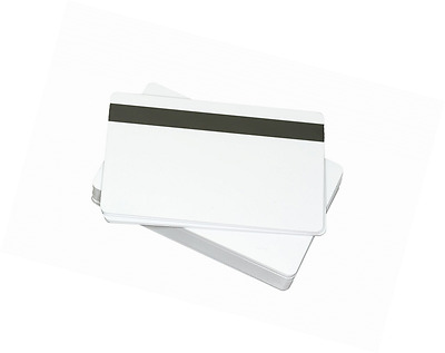 Pvc White Plastic Credit Photo Id Blank 30mil Cr80 Gift Cards 500 Card Badge Hic