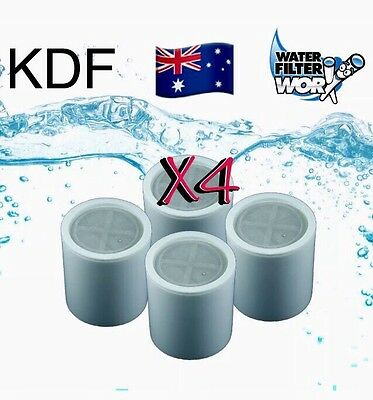 4 Pack Shower Filter Refill Replacement Cartridges Kdf Removes Chlorine ✅✅✅✅✅✅