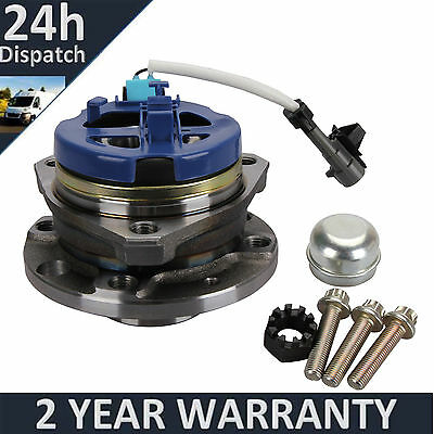 Front Wheel Bearing HUB 4 Studs FOR Vauxhall Astra G MK4 98-06 with ABS Sensor