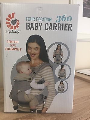New ERGO BABY FOUR POSSITION 360 Baby Carrier