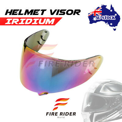 For Shoei Neotec GT-Air GT AIR IRIDIUM Racing Helmet Visor Shield AU