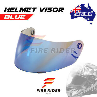 For Shoei X-Eleven RAID 2 II TZ-R Multitec BLUE Racing Helmet Visor Shield AU
