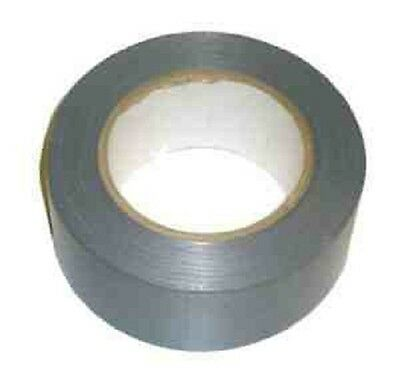 NEW Silver strong Gaffa silver cloth tape size :- 50mm X 50M