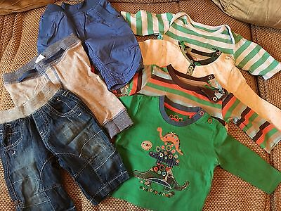 Baby Boys Tops And Trousers Clothing Bundle 0-3 Months