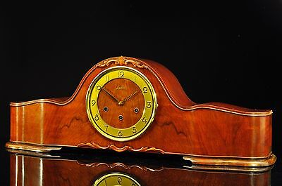 """Exceptional 1930` Junghans Mantel Clock Westminster Chime """"Superb Chime"""""""