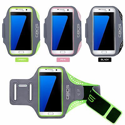 GBOS® Armband For Samsung Galaxy S7 Edge Plus Running Sports Adjustable Case