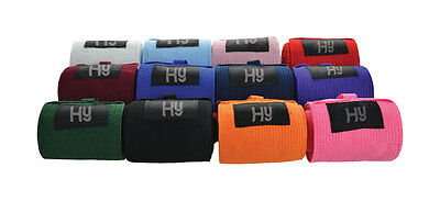 Hy Tail Bandage 2m x 7.5cm - Choice Of Colour - Horse Equestrian Pony