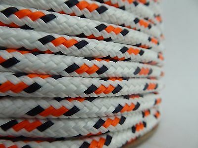 "1/4"" x 100 ft. Double Braid~Yacht Braid polyester rope .Sailboat Line. US"