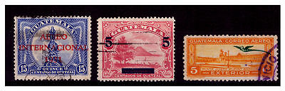 Guatemala Ovpt Stamps.  Used. #411