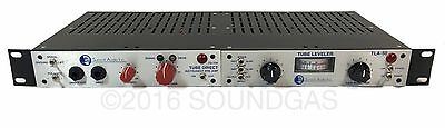 SUMMIT AUDIO TD-100 & TLA-50 Compressor/Limiter & Pre-amp in one rack