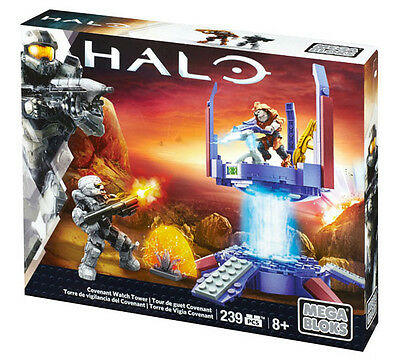 Mega Bloks Halo Covenant Watch Tower Building System Brand New In Box Dkt68