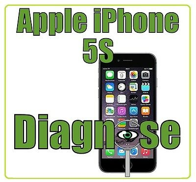 Apple iPhone 5S - Diagnose Wasserschaden Platine Software Handy Reparatur