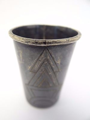 Vintage Used Sterling Silver .925 Taxco 431 Victoria Mexico Alcohol Shot Glass