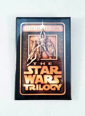* 1996 Star Wars Trilogy Promotional Badge * Excellent Cond * Free Postage *