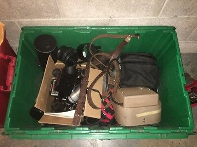 Camera Store Clean Out BOX!! Cameras, Cases, Lighting Equiptment, More...