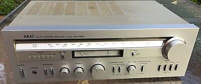 Vintage Akai Stereo Receiver #aa - R20 - Works Well & In Excellent Condition!