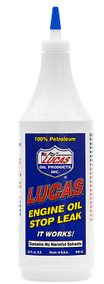 Lucas Oils Engine Oil Stop Leak Seal Sealer Stop Smoke 946ml - Made in USA
