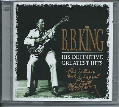 B.B. King - His Definitive Greatest Hits [The Best Of] 2CD NEW