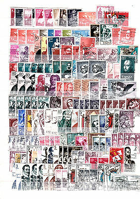 Spain Collection Of Used Stamps Lot 1