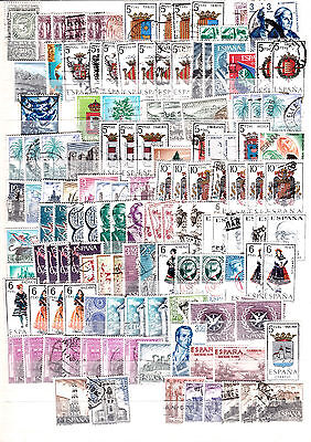 Spain Collection Of Used Stamps Lot 2