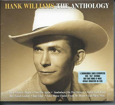 Hank Williams - The Anthology [Best Of / Greatest Hits] 3CD NEW/SEALED
