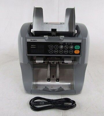 Glory GFR S90V Currency Counter w/ Counterfeit Detection
