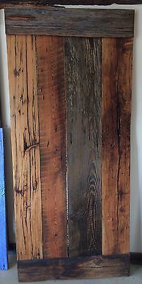 Reclaimed Sliding Barn Door with Hardware