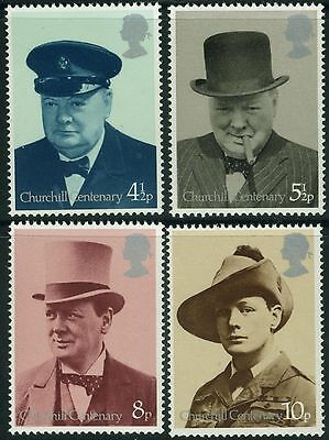 GB MNH STAMP SET 1974 Sir Winston Churchill SG 962-965 10% OFF FOR ANY 5+