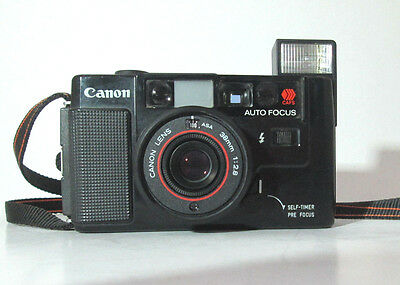 Canon Af35M Camera & Fixed 38 / 2.8 Lens