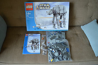 Lego 4483 At-At Star Wars 2003 2004 Set 100% Complete Boxed Blue