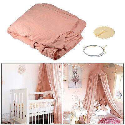 Canopy Bed Netting Mosquito Bedding Net Baby Kids Reading Play Tent Cotton HS881