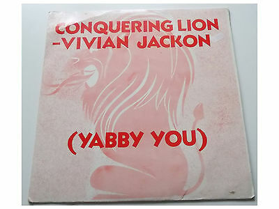 Vivian Jackson (Yabby You) ‎-  Conquering Lion - LP - Made in Jamaica
