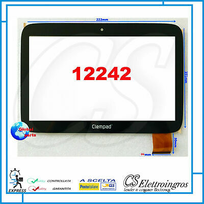 "Touch Screen Per Clempad Clementoni Xl 6.0 9"" Plus 12242"