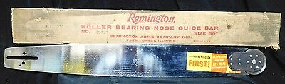 """NEW 9MM Slot 30"""" REPLACEMENT CHAIN SAW BAR REMINGTON 49437 Fits Many CHAIN SAWS"""