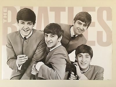 The Beatles  Rare Authentic 1991 Poster